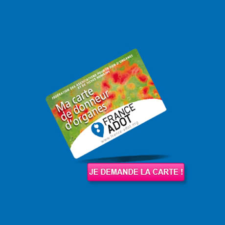 Carte de donneur